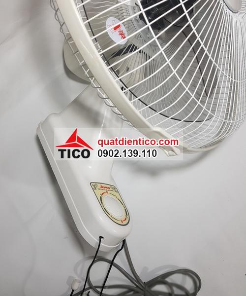 Quạt treo tường cao cấp MS400 màu trắng-Tico