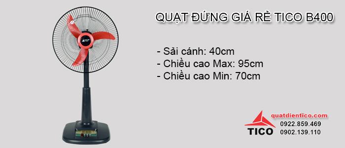 Quạt đứng giá rẻ chỉ 270.000đ tại Hà Nội