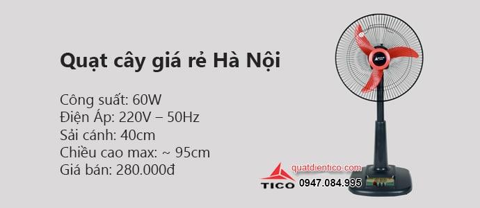 Quạt cây giá rẻ Hà Nội chỉ 280k bảo hành 12 tháng