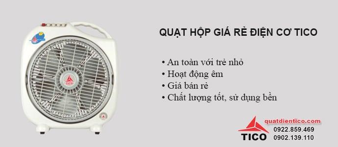 Hai mẫu quạt hộp giá rẻ tốt nhất tại Hà Nội