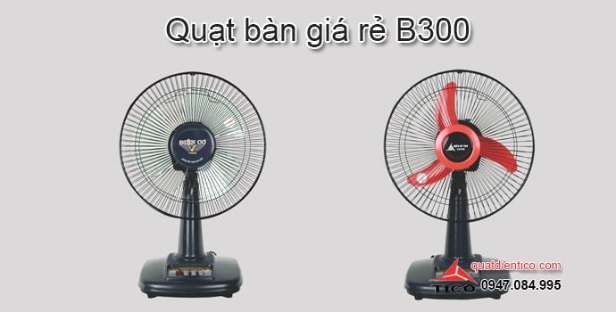 Quạt bàn giá rẻ điện cơ Tico tại Hà Nội